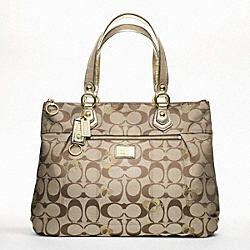 COACH F18711 - POPPY SIGNATURE GLAM ONE-COLOR