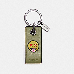 COACH F18902 Varsity 4gb Usb Key Fob MILITARY GREEN