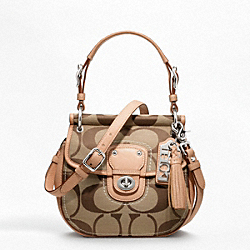 COACH F19032 - SIGNATURE SMALL NEW WILLIS ONE-COLOR