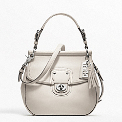 COACH F19132 - LEATHER NEW WILLIS SILVER/PARCHMENT