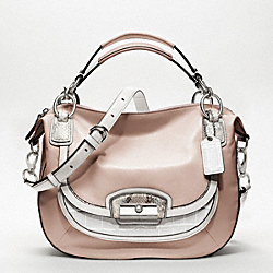 COACH F19307 - KRISTIN SPECTATOR LEATHER ROUND SATCHEL ONE-COLOR