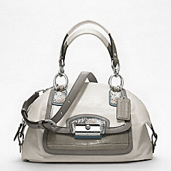 COACH F19308 Kristin Spectator Leather Domed Satchel