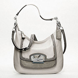 COACH F19310 Kristin Spectator Leather Hobo