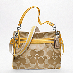 COACH F19698 - POPPY SIGNATURE SATEEN HIPPIE ONE-COLOR