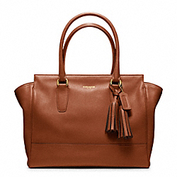 COACH F19890 Leather Medium Candace Carryall