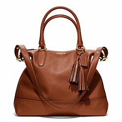 COACH F19892 - LEATHER RORY SATCHEL ONE-COLOR