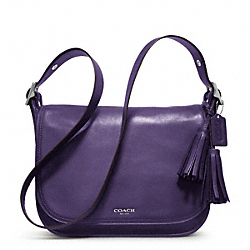 COACH F19921 - LEATHER PATRICIA SILVER/MARINE