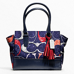 COACH F19951 - HERITAGE SIGNATURE C PRINT CANDACE CARRYALL ONE-COLOR