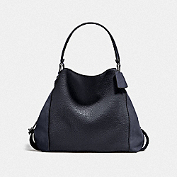 COACH F20334 Edie Shoulder Bag 42 DK/MIDNIGHT NAVY