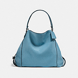 COACH F20334 Edie Shoulder Bag 42 DK/CHAMBRAY