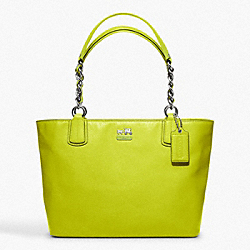 COACH F20466 - MADISON LEATHER TOTE ONE-COLOR