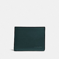 COACH F20954 Slim Billfold Id Wallet FOREST