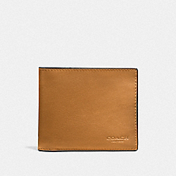 COACH F20956 - 3-IN-1 WALLET CARAMEL