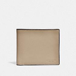 COACH F20956 3-in-1 Wallet LIGHT KHAKI