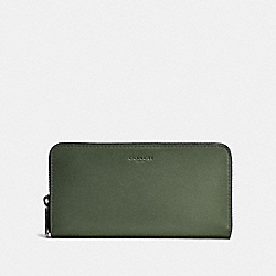 COACH F20957 - ACCORDION WALLET MOSS