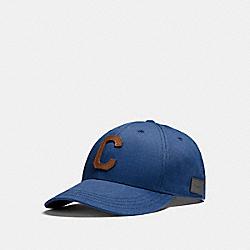 VARSITY C CAP - f21011 - BRIGHT BLUE