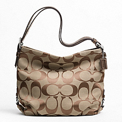 COACH F21023 - 24CM SIGNATURE DUFFLE ONE-COLOR
