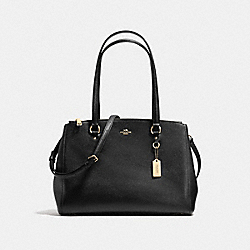 COACH F21024 - STANTON CARRYALL BLACK/LIGHT GOLD