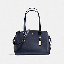 COACH F21024 - STANTON CARRYALL NAVY/LIGHT GOLD