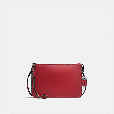 COACH f21035 SOHO CROSSBODY WASHED RED/BLACK COPPER