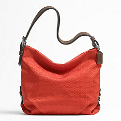 COACH F21041 - 4CM SIGNATURE DUFFLE ONE-COLOR