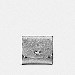 SMALL WALLET - F21069 - GUNMETAL/SILVER