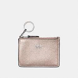 COACH F21072 - MINI SKINNY ID CASE PLATINUM/SILVER