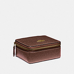 JEWELRY BOX - F21074 - BRONZE/LIGHT GOLD