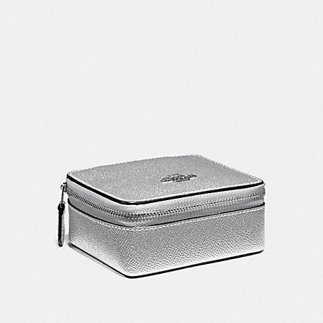 COACH JEWELRY BOX - METALLIC SILVER/SILVER - f21074