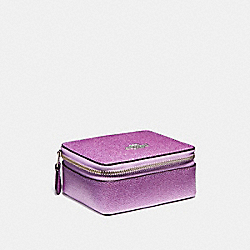 JEWELRY BOX - f21074 - SILVER/METALLIC LILAC