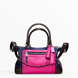 COACH F21134 Colorblock Leather Molly Satchel