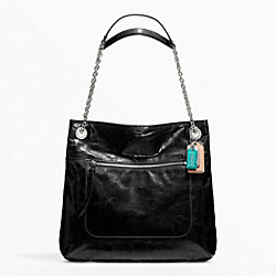 COACH F21199 Poppy Leather Slim Tote