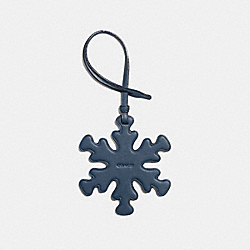 SNOWFLAKE ORNAMENT - F21532 - DARK DENIM