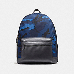 COACH F21556 Charles Backpack With Camo Print NIMS5