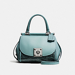 COACH F21584 - DRIFTER TOP HANDLE IN SNAKESKIN DK/CLOUD