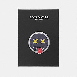 COACH F21653 Emoji Pin MULTICOLOR