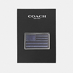 COACH F21654 American Flag Pin MULTICOLOR