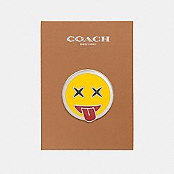 COACH F21664 Emoji Pin MULTICOLOR