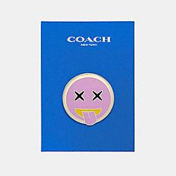 COACH F21666 Emoji Pin MULTICOLOR