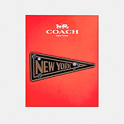 NEW YORK FLAG STICKER - f21684 - MULTICOLOR