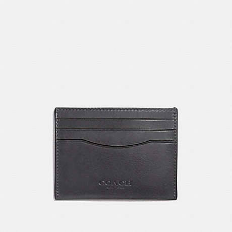 COACH F21795 CARD CASE GRAPHITE