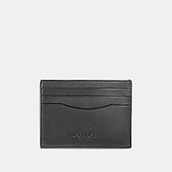 COACH F21795 - CARD CASE GRAPHITE