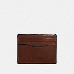COACH F21795 - CARD CASE MAHOGANY