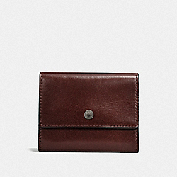 COACH F21797 - COIN CASE MAHOGANY