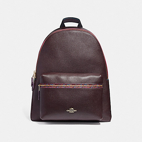 COACH f22235 CHARLIE BACKPACK WITH EDGEPAINT IMFCG
