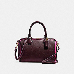 MINI BENNETT SATCHEL WITH EDGEPAINT - f22237 - IMFCG