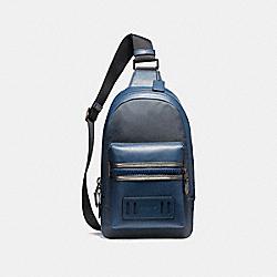 COACH F22242 Terrain Pack BLACK ANTIQUE NICKEL/DENIM/GRAPHITE