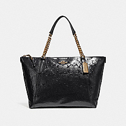 COACH F22260 - AVA CHAIN TOTE LIGHT GOLD/BLACK