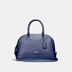 MINI SIERRA SATCHEL - f22315 - SILVER/METALLIC NAVY