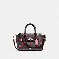 COACH F22318 - MINI BLAKE CARRYALL WITH PRIMROSE FLORAL PRINT IMFCG
